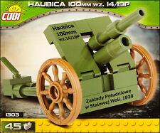 COBI Haubica 100 mm WZ.14/19P (1303) - 45 elem. - WWII Polish towed howitzer