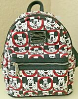 DISNEY Parks Loungefly MOUSEKETEER Mickey Mouse Club Mini Backpack - NWT