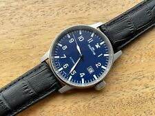 Vintage Fortis Flieger Blue Dial Automatic Gents Watch, Swiss Made, Mint