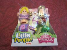 Fisher Price Little People Disney Princess Rapunzel Friends Pascal Maximus Flynn