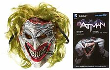 NEW Batman: Death of the Family Book and Joker Mask Set FREE SHIPPING