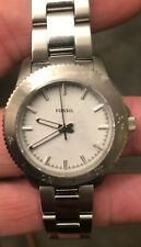 Fossil PR5436 Retro Traveler Ladies Stainless Steel Watch Brand New