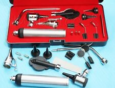 NEW Professional OPHTHALMOSCOPE / OTOSCOPE Set ENT Surgical Instruments+3 BULB