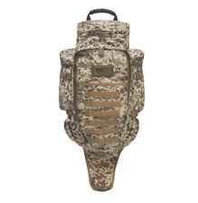 Tan ACU Digital Tactical Padded Rifle Backpack MOLLE Gun Dual Carry Hunting Sand