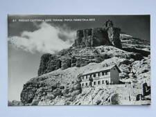 TOFANE Rifugio CANTORE Punta Marietta Cortina Dolomiti montagna CAI alpinismo