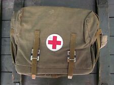 Authentic Soviet Russian Army Medic Bag Case USSR First Aid. Rare. New!