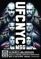 UFC 205 Fight Poster (24x36) - Eddie Alvarez vs Conor McGregor