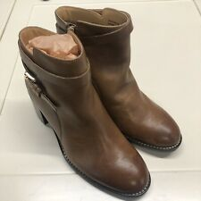 Hush Puppies Tan Leather Boots UK5