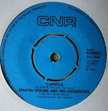 "7"" Martin Wulms And His Orchestra Carioca Torero D'Amor Holland Cnr 1973 Latin"