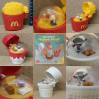 McDonalds Happy Meal Toy 1996 McDonaldland Character Food Spinner Toys - Various