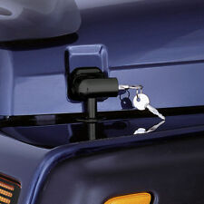 New Jeep Wrangler Tj 97-06 Locking Hood Catch Kit Black X 11210.10