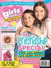 GIRLS' WORLD MAGAZINE#3 MARCH 2021/ JULES LeBLANC & JAYDEN BARTELS.
