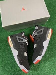 Nike Air Jordan 4 Retro 'Bred' 1999 Men's Size 13 Black/Red 136013-001