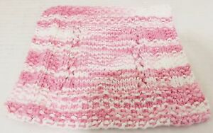 New Handmade Hearts and Lace Wash Cloth