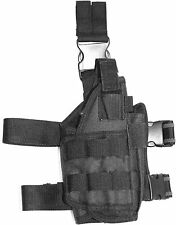 Trinity tactical leg holster compatible with Tippmann Tipx paintball marker blk.