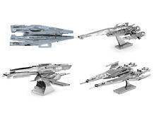 Metal Earth 3D Laser Steel Cut Model Kits Mass Effect Set of 4 Full Gift Set