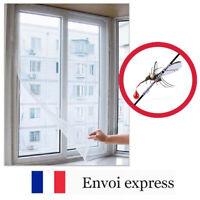 Moustiquaire pour fenêtre + fixation contour - anti moustique, guêpe, insectes
