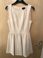 Topshop Blush Pink Skater Dress Only Worn Once Size8