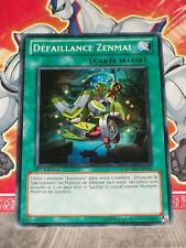 Carte YU GI OH DEFAILLANCE ZENMAI PHSW-FR055 x 3