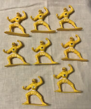 """Power Rangers Mighty Morphin Movie 8 Yellow Ninja Ranger 2.5"""" Figure Bandai 1995"""