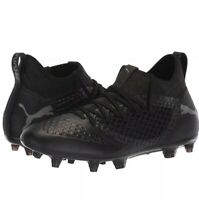 PUMA FUTURE 2.3 NETFIT FG/AG Men's Black Soccer Cleats 104832 03 Size 12