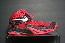 Nike Zoom Lebron Soldier VIII 8 14' Sneaker Athletic Hip B-Ball Multi Neon Sz 11
