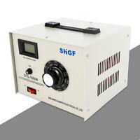 VARIABLE AUTOTRANSFORMER 10A 110V VOLTAGE REGULATOR Converter 0-130V OUTPUT NEW