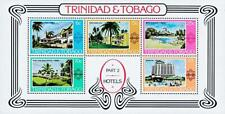 Trinidad 1978 Hotels S/S Mnh Architecture, Palm Trees