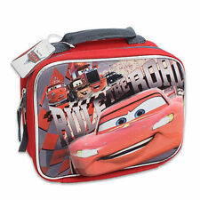bb165629b67 Lunch Bag Insulated Pop Out 3D Cars McQueen Red Black New