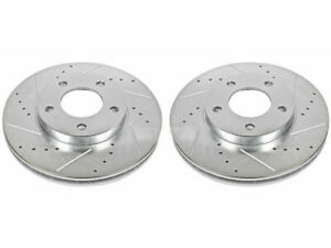For 2001-2006 Mazda Tribute Brake Rotor Set Front Power Stop 55565PW 2002 2003