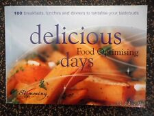 SLIMMING WORLD 100 FOOD OPTIMISE DAYS B'FAST LUNCH & DINNER- GREEN RED DAYS VGC