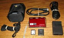 Nikon Coolpix S60 10MP 5.0x Optical Zoom Lens UVGC Crimson Red Guarantee Bundled