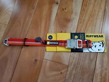 New listing Ruffwear Top Rope Reflective Red Dog Collar Red Size L 20-26� 51-66 cm