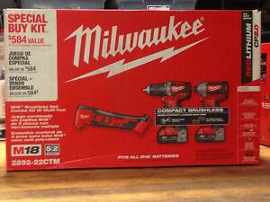 Milwaukee 2892-22CTM M18 2Pc Combo Kit With Multi Tool