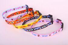 Dog Collar yorkshire terrier/yorkie adjustable pink 30-40cm