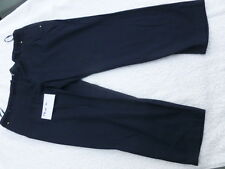 GEORGE at Asda Cotton NAVY trousers   UK 18  23.1/2 inch Leg