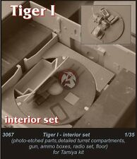 CMK 1/35 Tiger I Interior Detail Set (for Tamiya kit) 3067