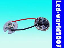 Cree XR-E Q5 White 3W Led + Driver Dimmer Circuit Board