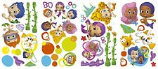 New BUBBLE GUPPIES Wall Decals Nickelodeon Stickers Kids Bedroom Toy Room Decor