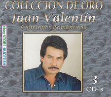 Juan Valentin Colecion de Oro Canciones Romanticas 3CD New Nuevo sealed