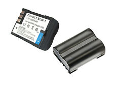 New 2 piece BLM1 batteries + Charger For OLYMPUS E-3 E-5 E-30 camera HLD-4 Grip