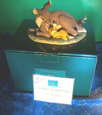 """WDCC Bambi & Mother """"My Little Bambi"""" 2000 Spring Event Sculpture LE Signed COA"""