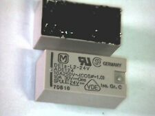 Relais Panasonic DE1a-L2-24V bistabil 1 Schließer 1FormA 2 Coil latching SPST-NO