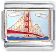 Italian Charm Golden Gate Bridge San Francisco SF USA
