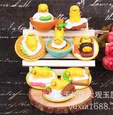 8pcs Sanrio Gudetama Lazy EGG Mame Petit Mascot Kawaii Action Figures Toys Dolls