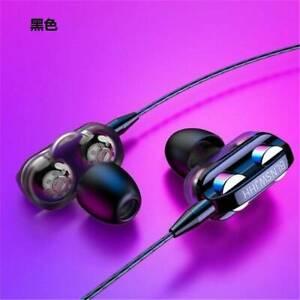 Super Bass In ear HIFI Stereo Headphone Headset Earphones Earbud 3.5mm W/Mic
