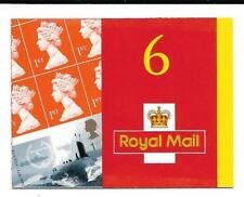 PM2 6 x 1st Submarines Self Adhesive Booklet Cyl Q1 x 6 Cat £125 Ref 14840
