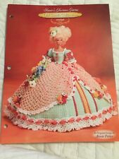 Annie's Attic Old South Collection Glorious Gowns Delilah Crochet Doll Pattern