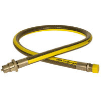 """UNIVERSAL Gas Supply Pipe Hose Tube Straight LPG Oven Cooker Stove 4ft x 1/2"""""""