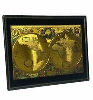 NOVA TOTIVS TERRARVM ORBIS GEOGRAPHICA AC HYDROGRAPHICA TABVLA GOLD FOIL MAP